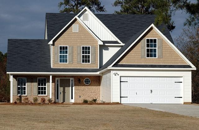 garage door design and texture