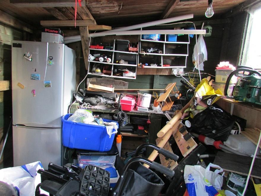 conquer clutter first