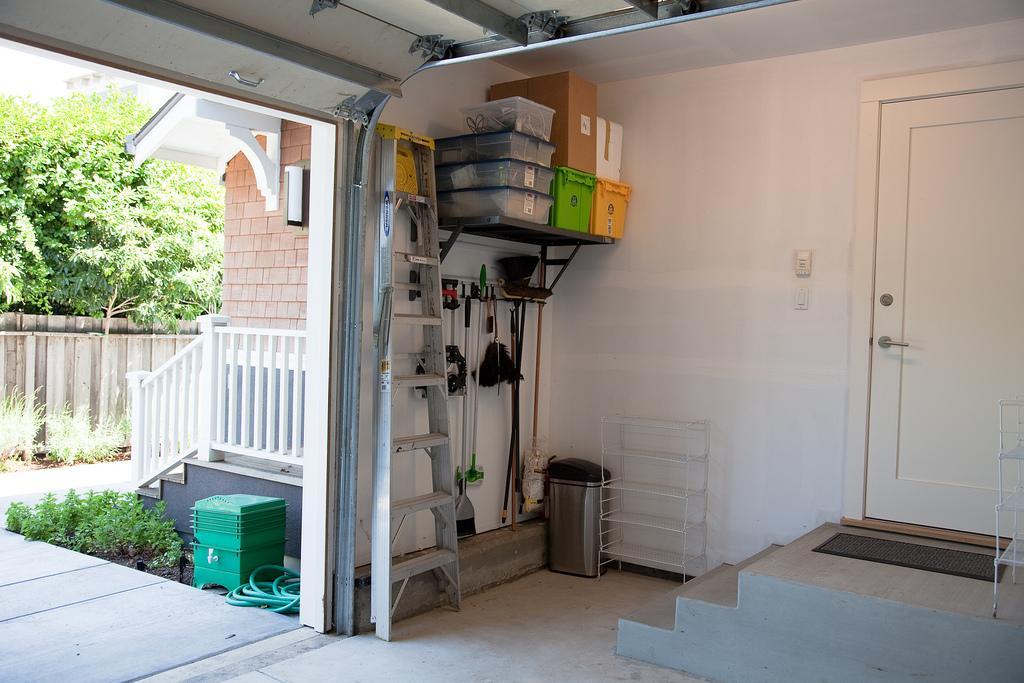 maintain the surroundings garage area dry