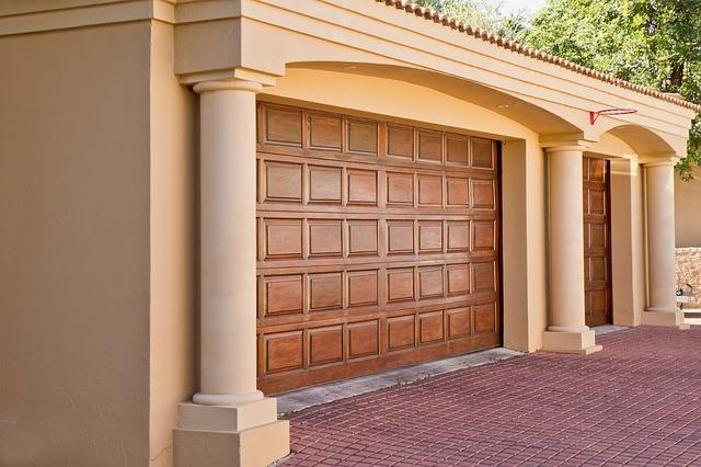 bring up the value of your home with a new garage door