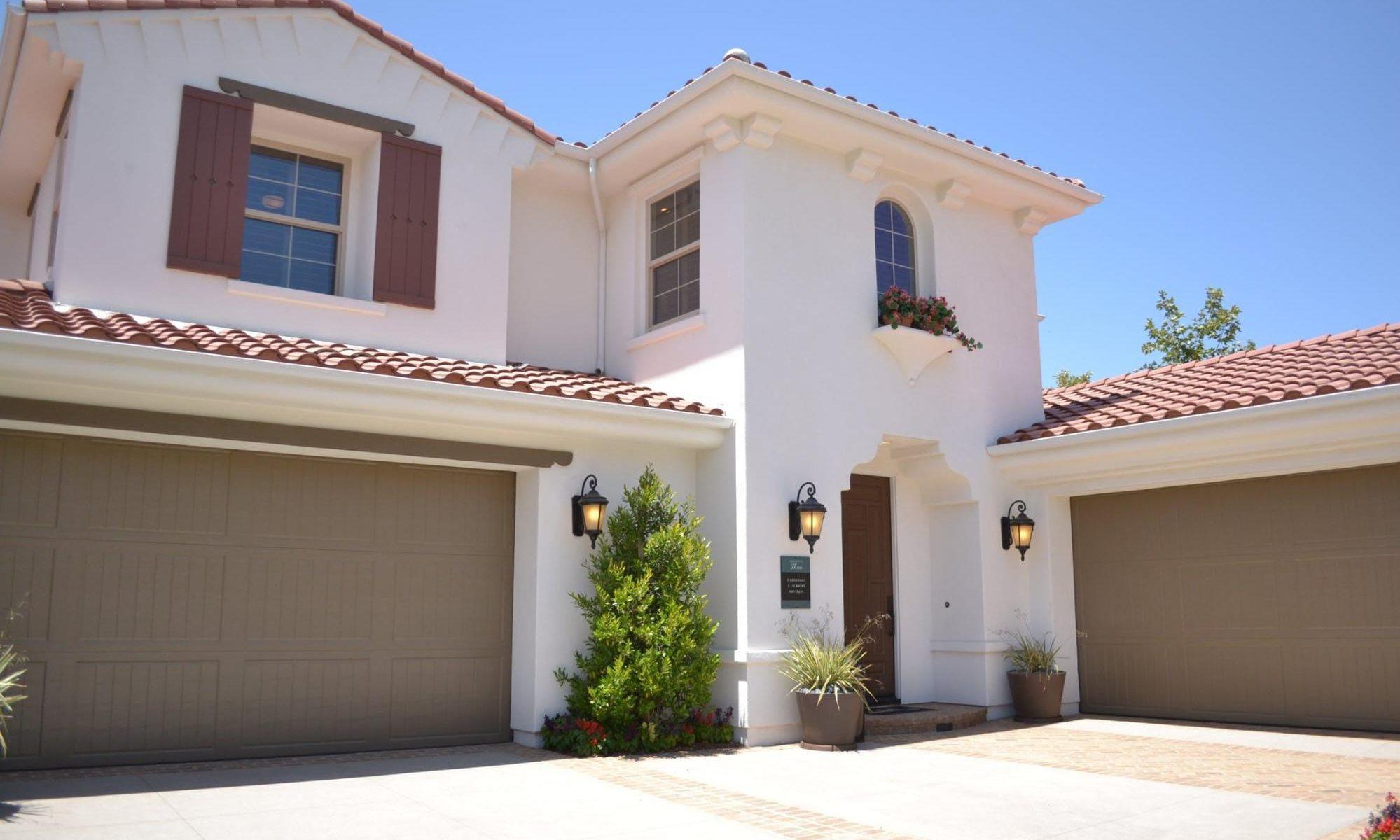 different types of garage door styles