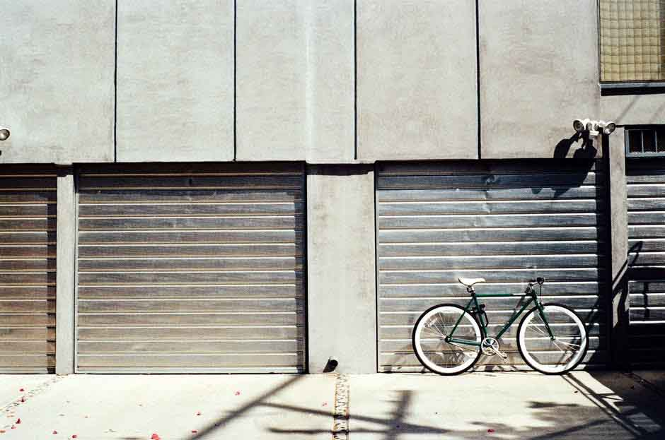 Different types of garage doors from commercial to residential