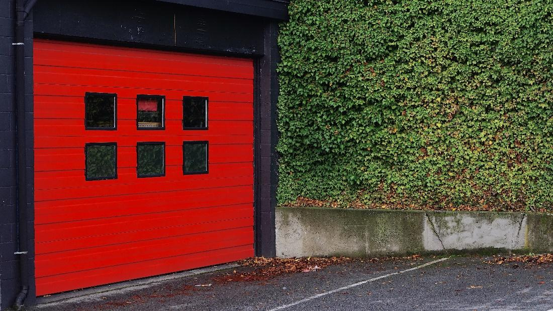 garage door design and upping the style with windows