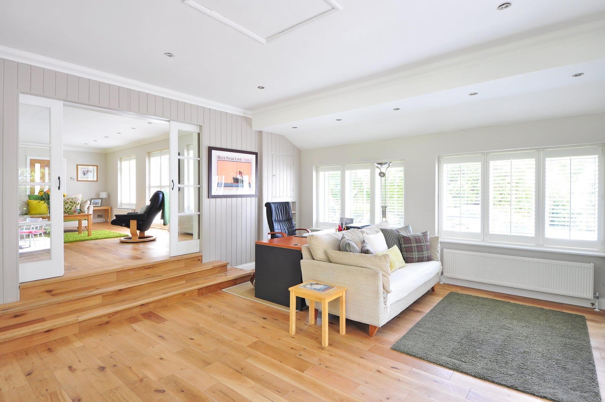 particular indoor and outdoor spaces