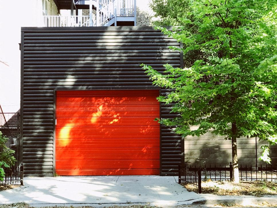 get a sturdy garage door
