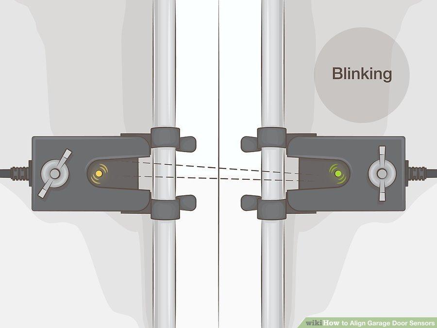 Align Garage Door Sensors