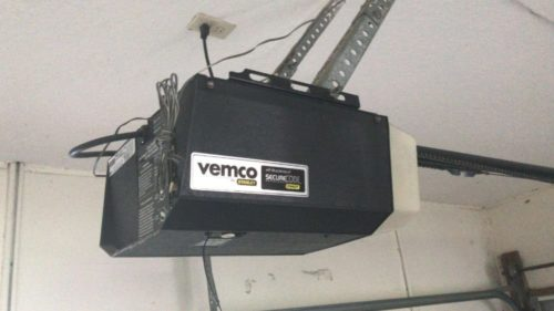 Vemco garage door opener from Stanley