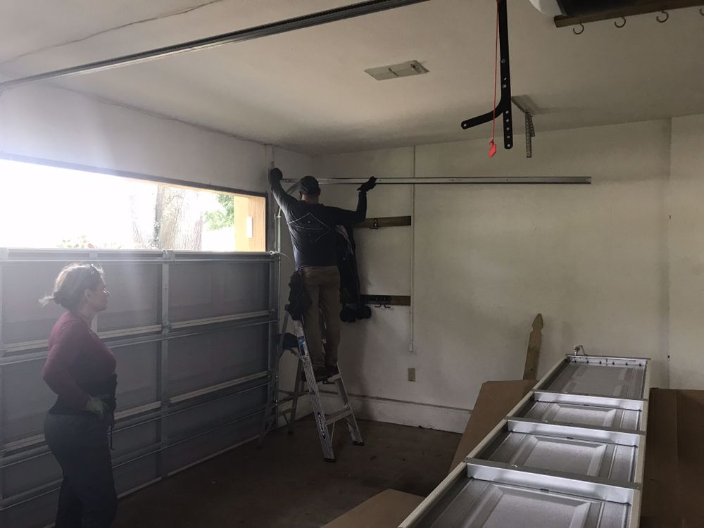 expert garage door installation