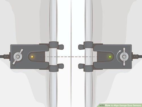 Sure Fix Garage Door Repair-Aligning-Garage-Door-Sensors