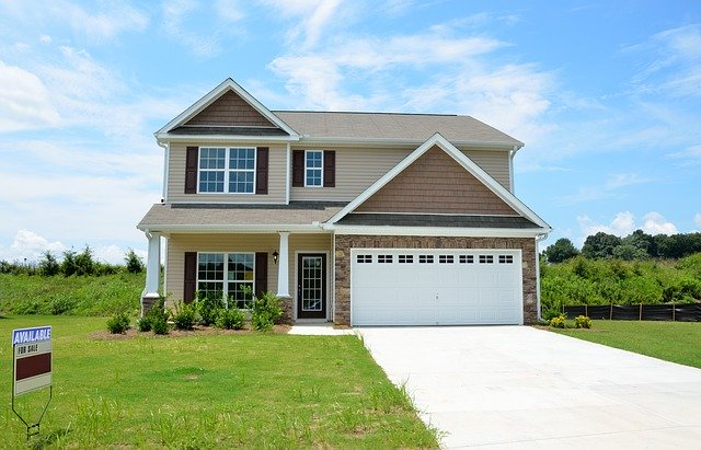 New garage door upgrades enhances the homes curb appeal