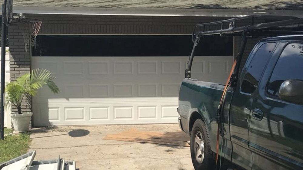 hurricane resistant garage door